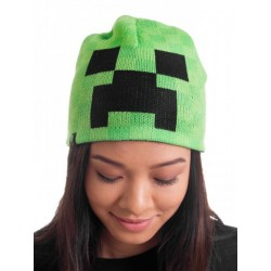 Cappellino invernale Creeper Minecraft
