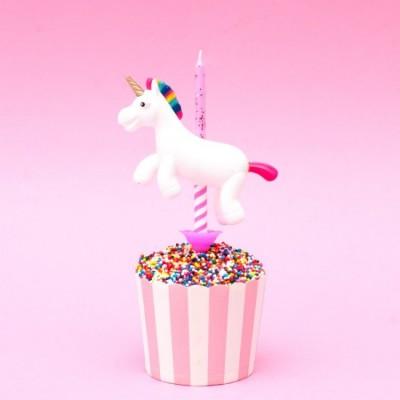 Unicorno porta candeline