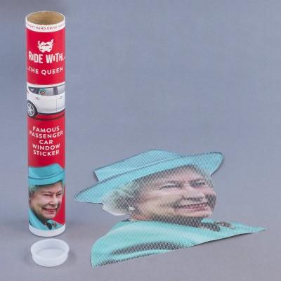 Adesivo da finestrino – Regina Elisabetta