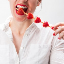 Stampo cuore per fragole