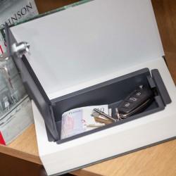 Libro con cassetta di sicurezza