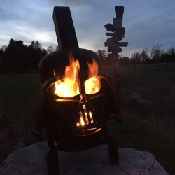 Barbecue Darth Vader