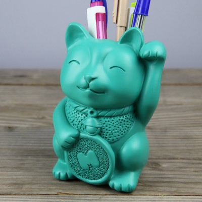 Portapenne Lucky Cat