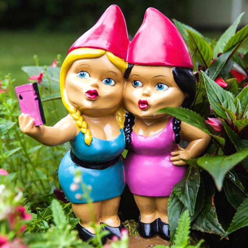 Nane da giardino Selfie