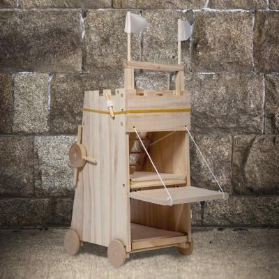 Torre d'assedio da montare