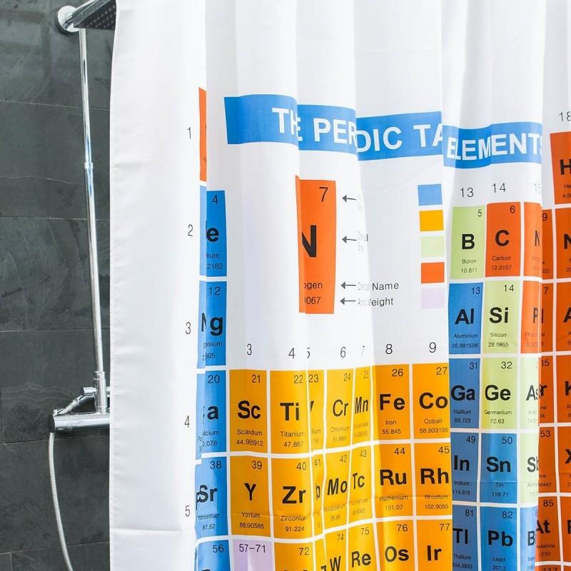 Tenda da doccia Tavola periodica