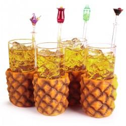 Bicchieri Ananas