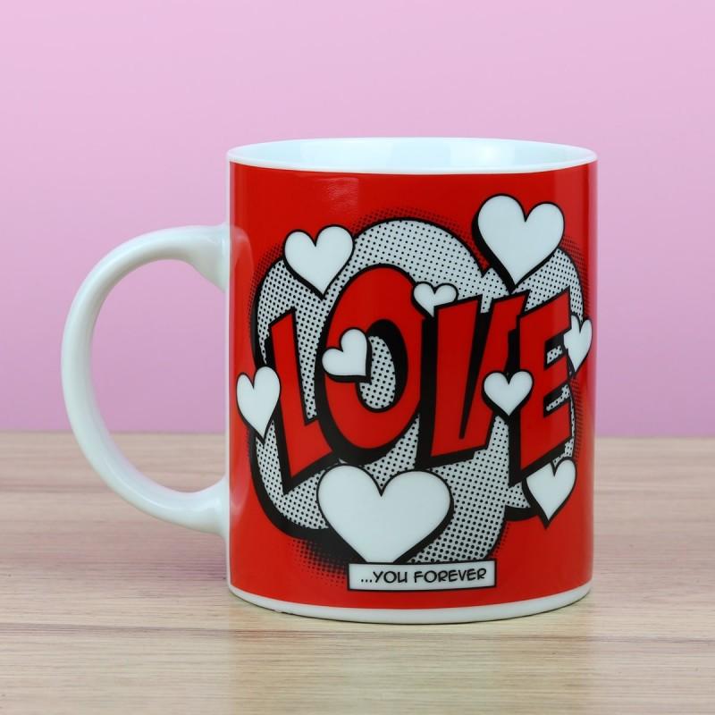 Mug Comic Love