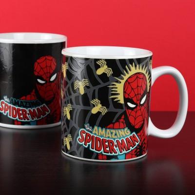 Mug termosensibile Spider-Man