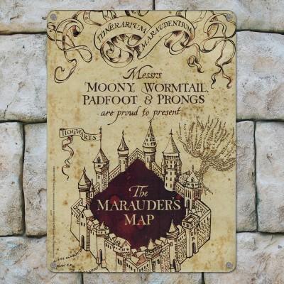 Targa copertina Mappa del Malandrino (A5)