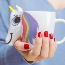 Mug termosensibile unicorno