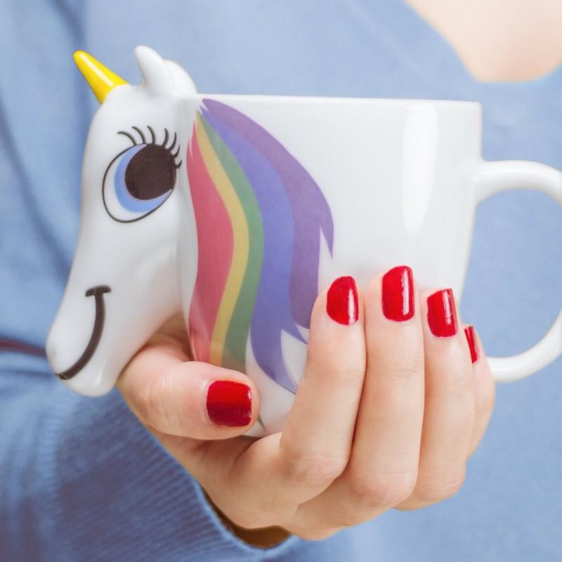 Mug termosensibile unicorno