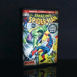 Luminart Spider-Man vs Hulk