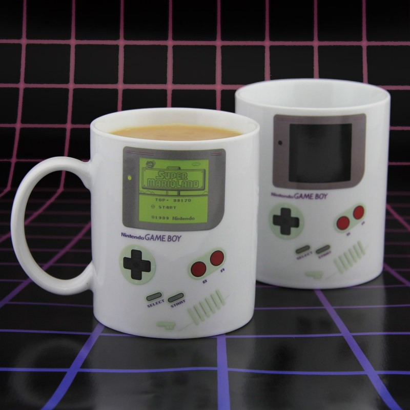 Mug termosensibile Game Boy