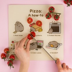 Tagliere Pizza Pusheen Cat