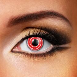 Lenti a contatto - Spirale rossa