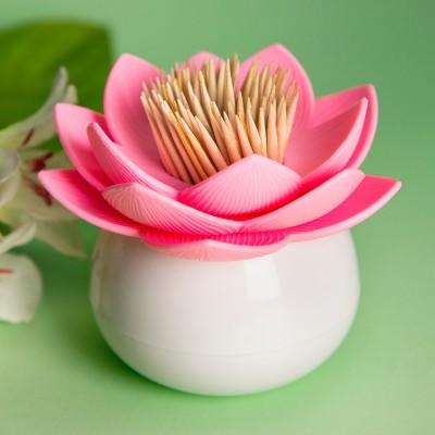 Fiore di loto portastuzzicadenti