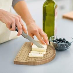 Tagliere goniometro per formaggio