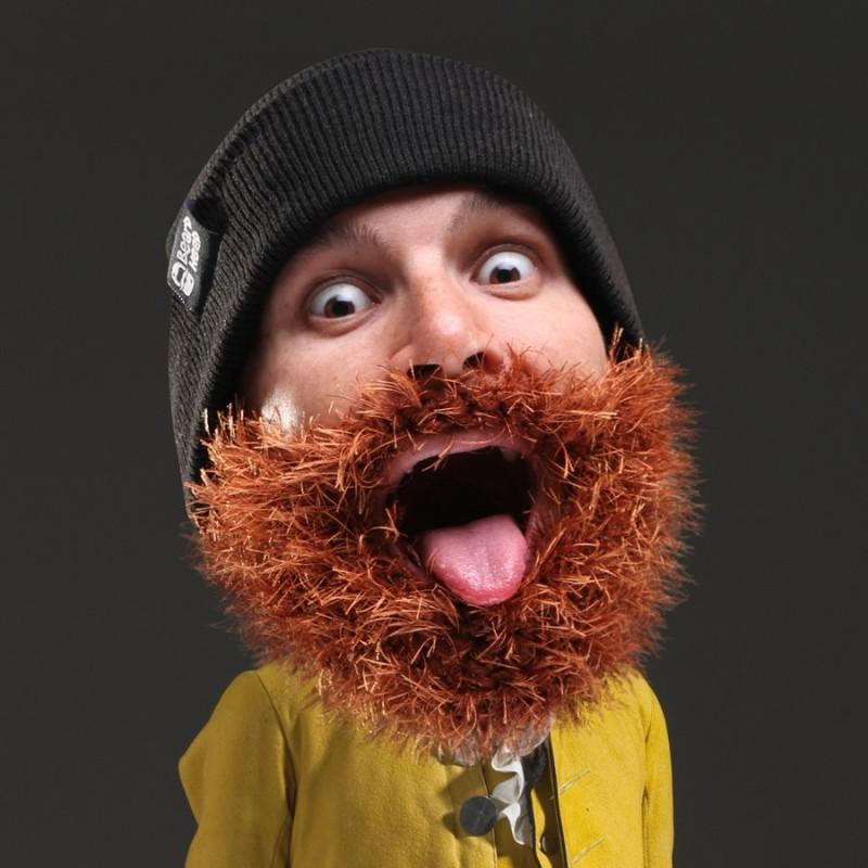 Cappello con Barba cespugliosa