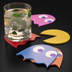 Set di Sottobicchieri Pac-Man