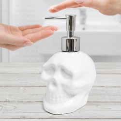Teschio dispenser di sapone