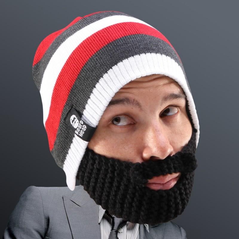 Cappello con Barba a strisce