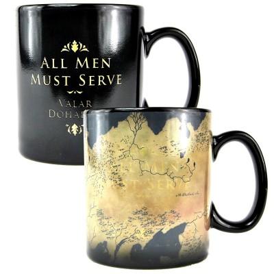 Mug termosensibile Mappa Game of Thrones