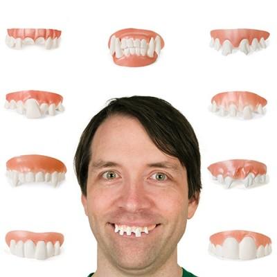 Set di denti finti