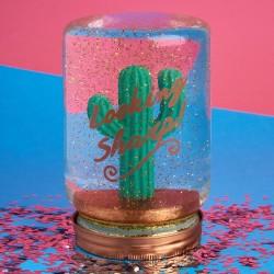 Barattolo sfera di neve Cactus
