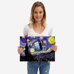 Targa TARDIS Van Gogh