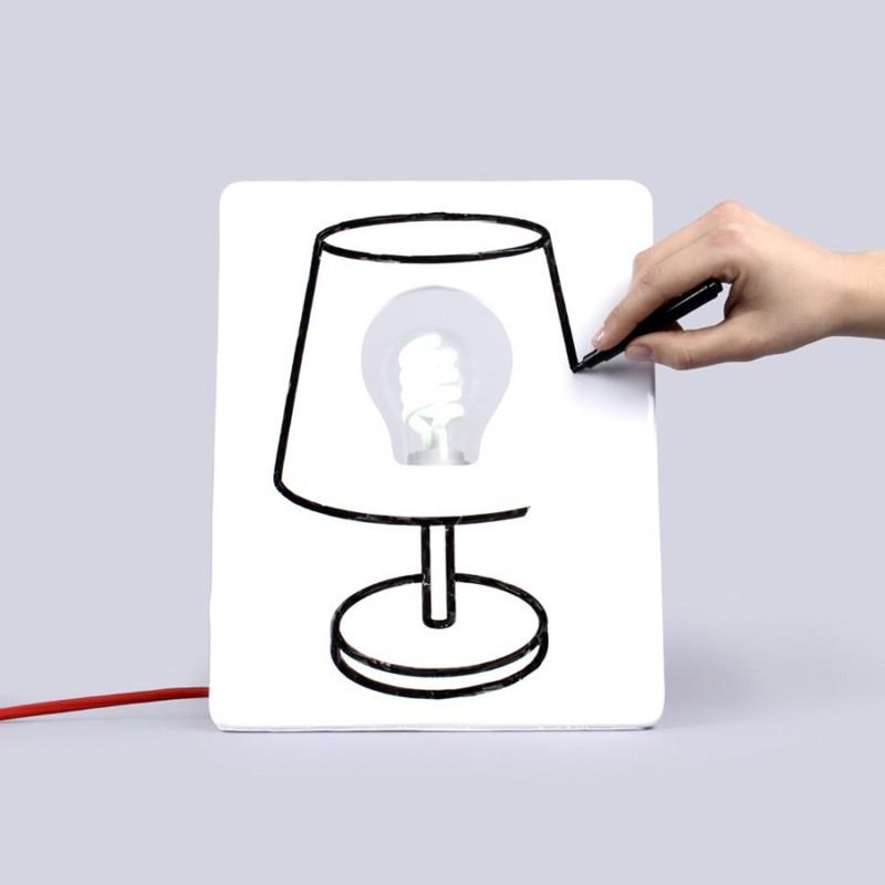 Draw Lamp - la lampada da disegnare
