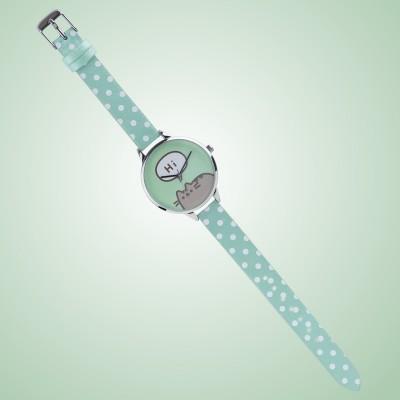 Orologio Pusheen Cat a pois