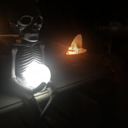 Scheletro luce solare