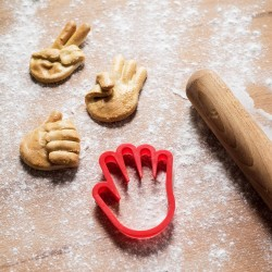 Formina mano per biscotti