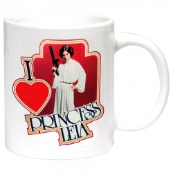 Mug Star Wars - I Love Princess Leia