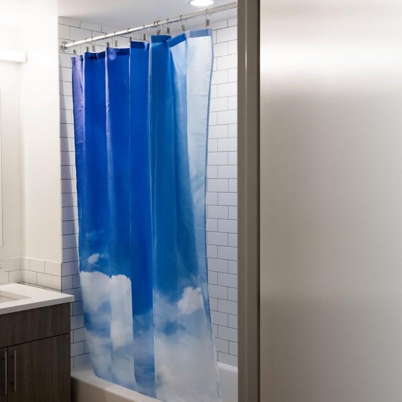Tenda da doccia Nuvole