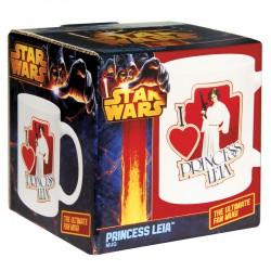 Mug Star Wars - I Love Princess Leia