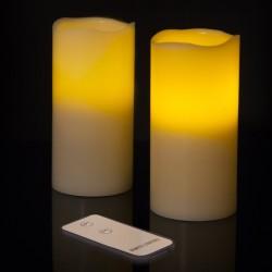 Candele LED con telecomando