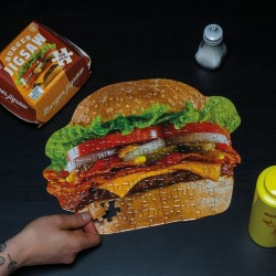 Puzzle Hamburger