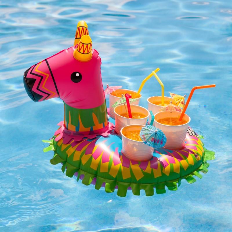 Pi ata da piscina porta bevande dottorgadget for Gadget da piscina