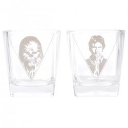 Bicchieri Han Solo e Chewbecca