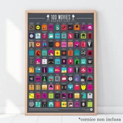 Poster 100 film da vedere