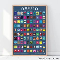 Poster 100 serie TV da vedere