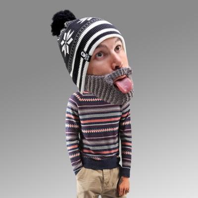 Cappello con Barba - Fiocco di Neve