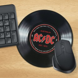 Tappetino per mouse Disco in vinile AC/DC