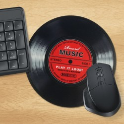 Tappetino per mouse Disco in vinile