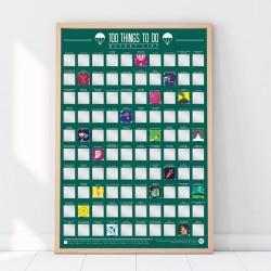 Poster 100 cose da fare