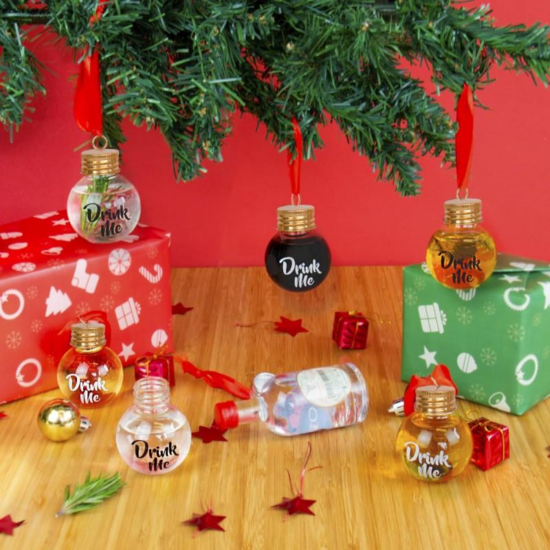 Palline di Natale alcoliche