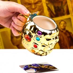 Mug Guanto dell'Infinito 3D