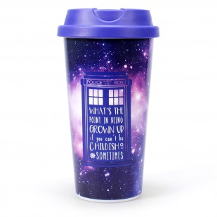 Mug da viaggio Galaxy Doctor Who